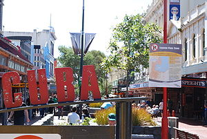 Pacific Media Network - Pacific Media Network has partnered with Whitireia New Zealand on Cuba Street in Wellington.
