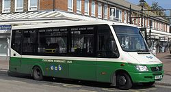 Cuckmere Community Bus bus OU05 LWP (2)(cropped).jpg