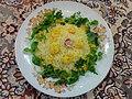 Cuisine of Iran آشپزی ایرانی 11-خوراک میگو با پلو.jpg