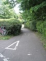 Cycle path from Winston Churchill Avenue to River's Street - geograph.org.uk - 807207.jpg