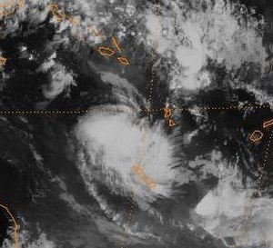 1996–97 South Pacific cyclone season - Image: Cyril 96