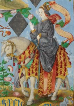 D. Constança de Hohenstaufen, Rainha de Aragão - The Portuguese Genealogy (Genealogia dos Reis de Portugal)