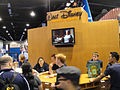 D23 Expo 2011 - giving away stuff at the Disney Animation booth (6080871531).jpg