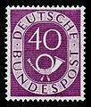 DBP 1951 133 Posthorn.jpg