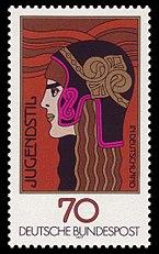 DBP 1977 924 Jugendstil
