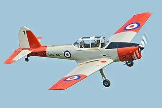 de Havilland Canada DHC-1 Chipmunk Family of Canadian training aircraft