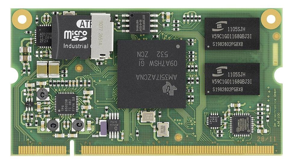 DHCOM Computer On Module - AM35x