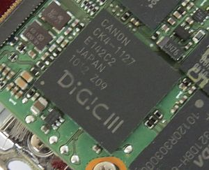 DIGIC - DIGIC III in Canon Powershot A3100