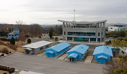 Korean Demilitarized Zone DMZ, looking at South (33139918525).jpg