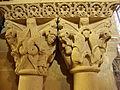 DSC03107 Lescar (Pyr-Atl, Fr) Cathédrale, un chapiteau double.JPG