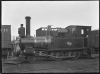 D class steam Neilson locomotive, New Zealand Railways number 197 (2-4-0T). ATLIB 195851.png