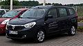 Dacia Lodgy dCi 110 eco² Prestige – Frontansicht, 19. Juni 2012, Heiligenhaus.jpg