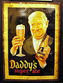 Daddys super ale, beer advertising.JPG