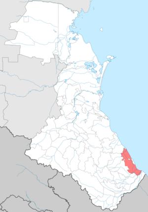 Derbentsky District - Image: Dagestan Derbentskiy district