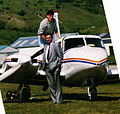 Dairn and Phillip, Queenstown 1991 (5445556).jpg