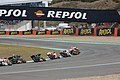 Dani Pedrosa leads the pack 2011 Jerez 3.jpg