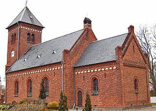 Village in Zealand (Sjælland), Denmark