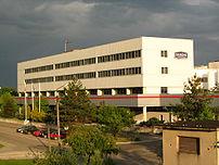Danone factory in Bieruń, Poland