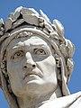 Dante, escultura, Florencia, Italia, 2019 02.jpg