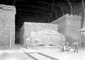 Das Strohballenlager in einer Halle der Endetappe Luzern - CH-BAR - 3240674.tif