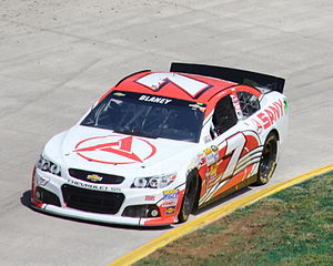 Tommy Baldwin Racing - The No. 7 SANY Chevrolet at Martinsville Speedway in 2013.