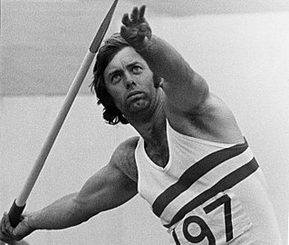 Dave Travis British javelin thrower