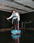 David Scott Training on Air Bearing Floor (S66-19284).jpg