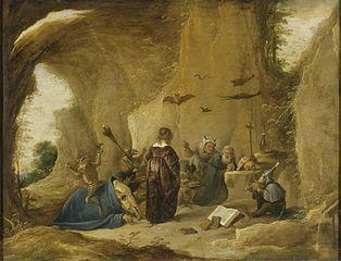 Temptation of St Antony