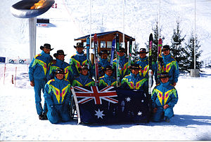 Australia at the 1992 Winter Paralympics - the Australian Team at the 1992 Winter Games