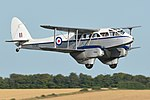 "De Havilland DH89A Dragon Rapide 'TX310' ""nettie"" (G-AIDL) (30814421817).jpg"