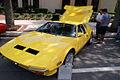 De Tomaso Pantera 1972 yellow LSideFront LakeMirrorClassic 17Oct09 (14414122847).jpg