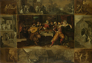 Francken - The Parable of the Prodigal Son, by Frans Francken II, c. 1610