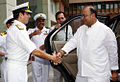 Defence Minister Arun Jaitley arrives for the Commander's Conference 2014.jpg