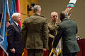 Defense.gov News Photo 100811-D-7203C-005 - The incoming commander of U.S. Central Command Gen. James N. Mattis takes the flag signifying the assumption of command from outgoing acting.jpg