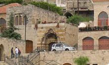 Sinagoga a Deir al-Qamar risalente al 600 d.C.