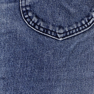 Denim - Denim fabric dyed with indigo