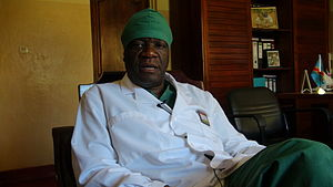 Denis Mukwege - Mukwege in his office in Panzi