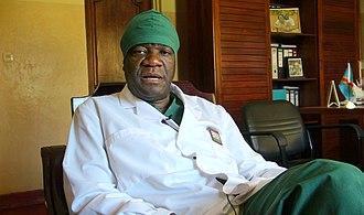 Denis Mukwege - Mukwege in his office in Panzi in 2013.
