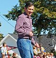 Dennis Kucinich in the Woolly Bear Festival parade (2922007835).jpg