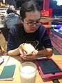 Departure from Taiwan to Wikimedia Conference 2016 - 02.jpg