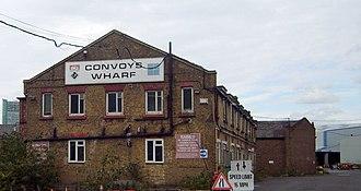 Convoys Wharf - Convoys Wharf
