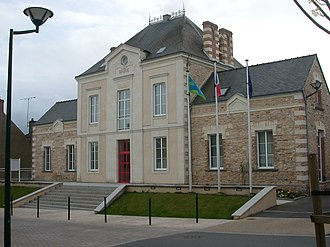 Derval - The town hall in Derval