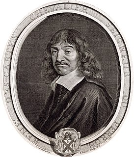 <i>Cogito, ergo sum</i> philosophical statement made by René Descartes