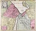 Deserta Aegypti, Thebaidis, Arabiae, Syriae etc. ubi accurate notata sunt loca... - CBT 6626834.jpg
