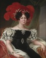 Desideria, 1781-1860, drottning av Sverige och Norge, gift med Karl XIV Johan (Fredric Westin) - Nationalmuseum - 36509.tif