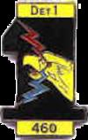 Det 1 460th Tactical Reconnaissance Wing Emblem