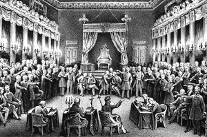 Sejm of Congress Poland - Dethronisation of Tsar Nicholas I by the Sejm in 1831