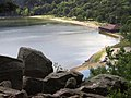 Devils Lake - View of the Beach from the East Bluff Trail.jpg