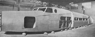 Dewoitine D.332 - Dewoitine D.333 under construction. Assembly of the fuselage.