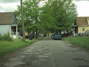 Delray, Detroit - Image: Dey Street Delray Detroit